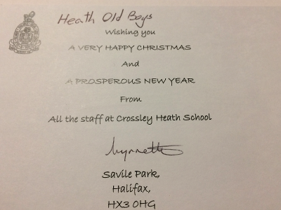 Wishing you a very happy Christmas and a prosperous New Year from all the staff at Crossley Heath School