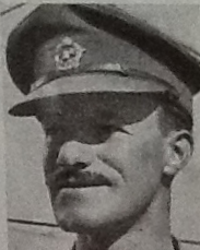 Head and shoulders of William Hampton apparently in army uniform